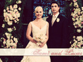 Lucas & Sami's Wedding - days-of-our-lives wallpaper