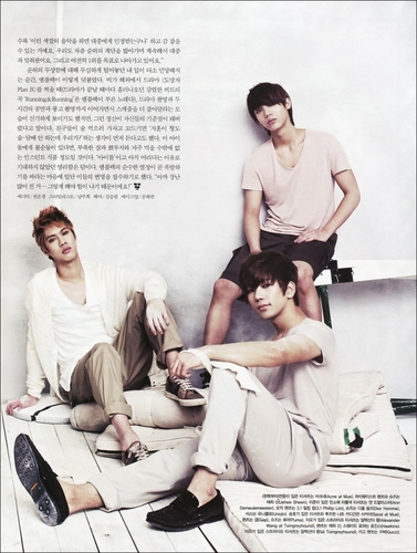 MBLAQ in Vogue Korea February 2011