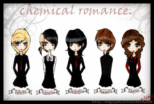 MCR in Drag - my-chemical-romance Fan Art