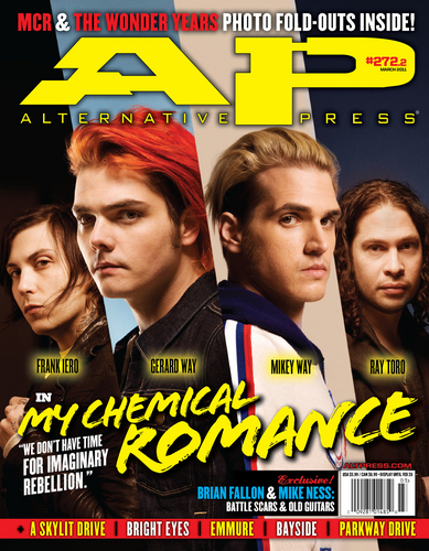 MY chemical romance AP cover 2011