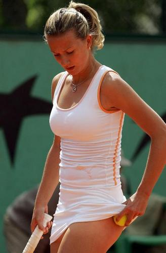 Tennis wallpaper entitled Marta Domachowska