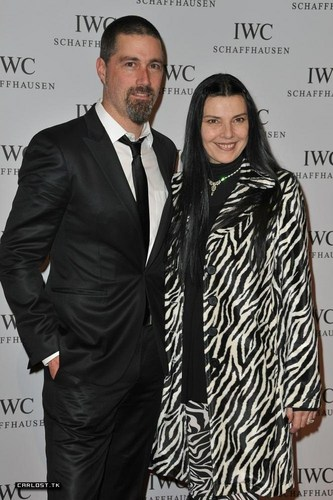 Matthew soro & his wife ♣ IWC Schaffhausen: Portofino Launch