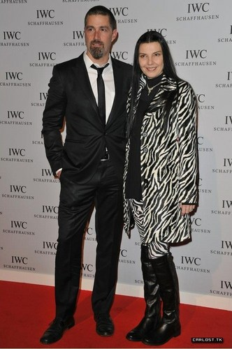Matthew renard & his wife ♣ IWC Schaffhausen: Portofino Launch