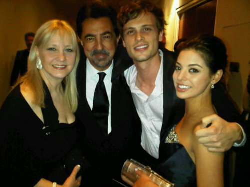 Matthew & Joe @ the 2011 Golden Globes