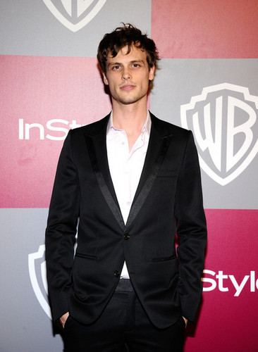 Matthew @ the 2011 InStyle/Warner Brothers Golden Globes Party