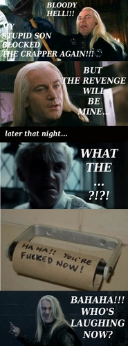 Mean Lucius Malfoy :D