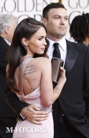 Megan @ 2011 Golden Globe Awards