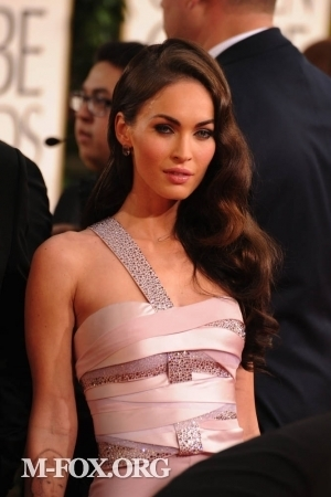 Megan @ 2011 Golden Globe Awards