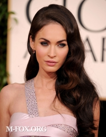 megan fox 2011 hair. Megan Fox @ 2011 Golden Globe