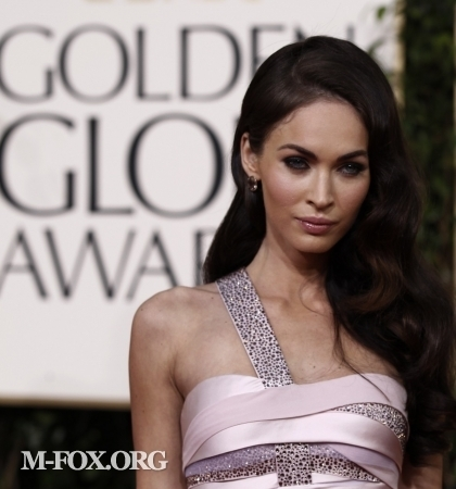 megan fox 2011 pics. Megan Fox @ 2011 Golden Globe