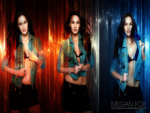 Megan Fox wallpaper probably with a well dressed person entitled Megan Fox Wallpaper