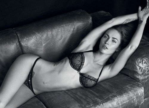 Megan Fox's 2011 Armani Underwear Campaign Photoshoot