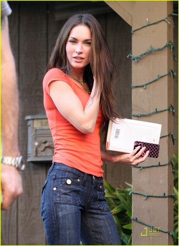 Megan out in Studio City