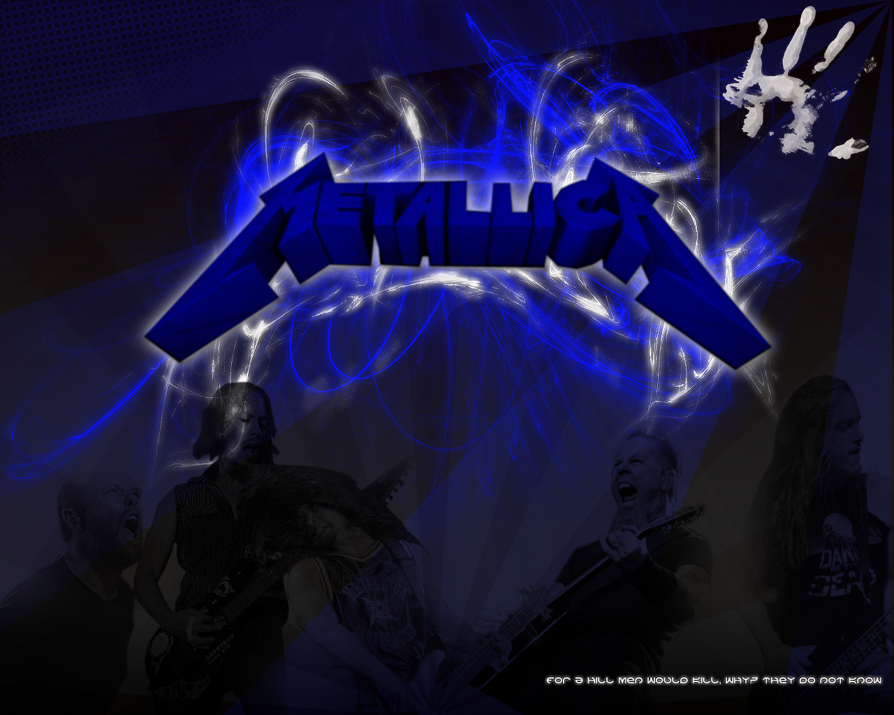 Metallica - Metallica Wallpaper (18560482) - Fanpop