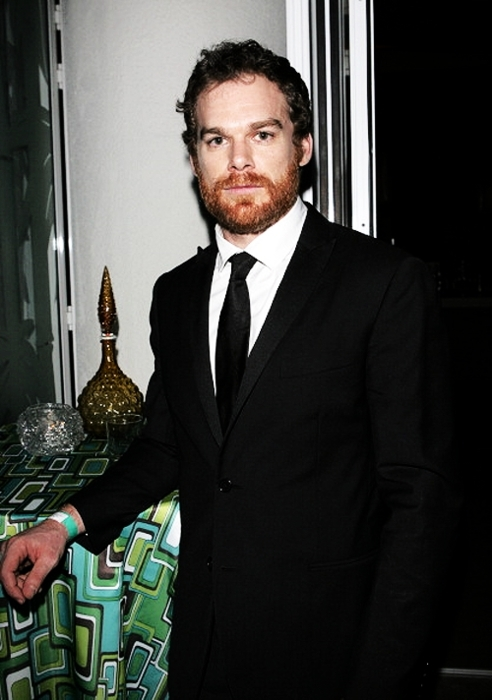 Michael C. Hall @ Golden Globes