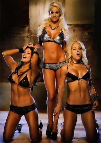 Michelle McCool,Maryse,Eve