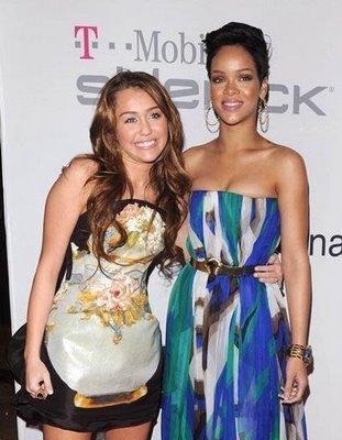 Miley & rihanna