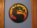 Mortal Kombat Logo by Pixelated Production - mortal-kombat fan art