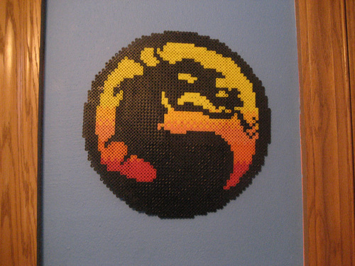 Mortal Kombat Logo by Pixelated Production
