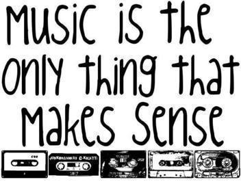 Muzik makes sense!!