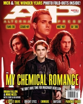 My chemical romamce AP magazine cover 2011