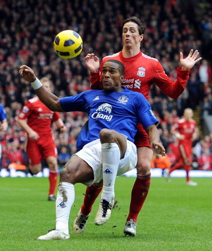 Nando - Liverpool(2) vs Everton(2)