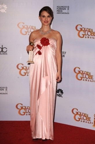 Natalie wins Best Actress at the 68th Annual Golden Globe Awards