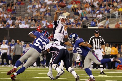 New England Patriots v New York Giants-September 2, 2010