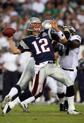 New England Patriots v Philadelphia Eagles-August 13, 2009