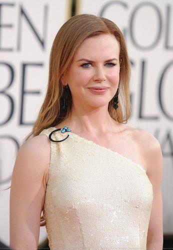 Nicole @ The 2011 Golden Globe Awards