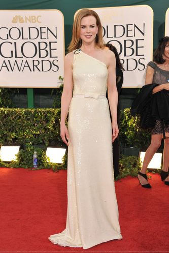 Nicole @ The 2011 Golden Globe Awards