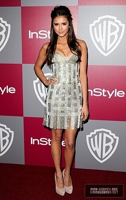 Nina @ 2011 InStyle Golden Globe AfterParty