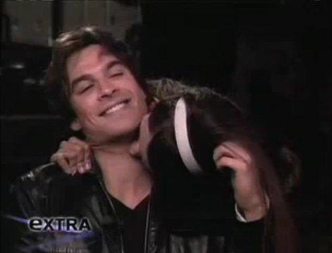 Nina Biting Ian ♥