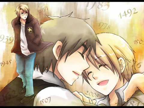 Old Days Come And Gone - hetalia-usuk Fan Art
