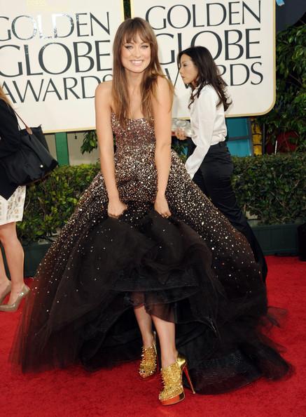 golden globes olivia. Olivia Wilde @ the 2011 Golden Globes - Olivia Wilde 437x594