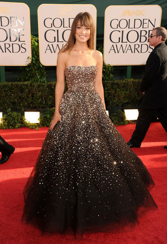 Olivia Wilde @ the 2011 Golden Globes