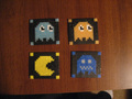 Pac Man Coasters by Pixelated Production - pac-man fan art