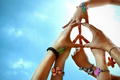 Peace and love  - peace photo