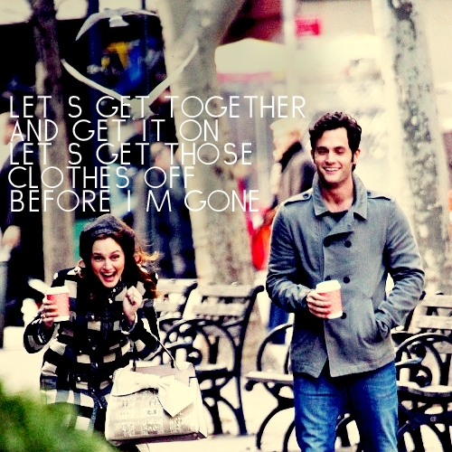 Dan and Blair wallpaper called Penn and leighton