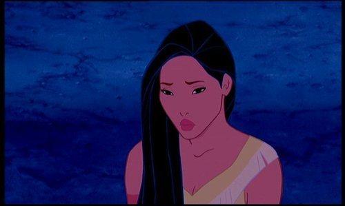 Disney Leading Ladies karatasi la kupamba ukuta entitled Pocahontas