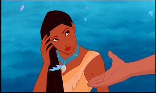 Disney Leading Ladies wallpaper containing anime entitled Pocahontas