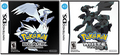 Pokemon Black and White North American Box Art