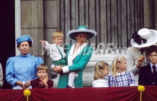 Prince William and Diana, Princess of Wales Prince Harry