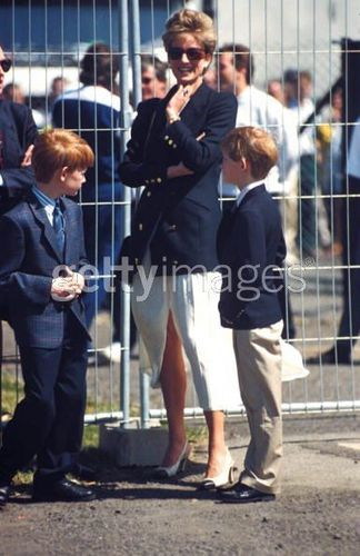 Princess Diana And Prince Harry (henry)