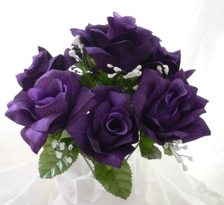 Purple দেওয়ালপত্র containing a camellia, a begonia, and a bouquet titled Purple ফুলেরসাজি