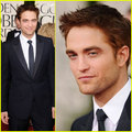 Robert Pattinson - Golden Globes 2011 Red Carpet - twilight-series photo