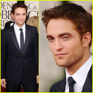 Robert Pattinson - Golden Globes 2011 Red Carpet