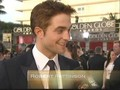 Robert Pattinson On The Red Carpet At The 2011 Golden Globe Awards - twilight-series photo