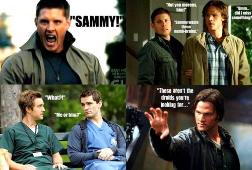 SUPERNATURAL/BEING HUMAN crossover:)