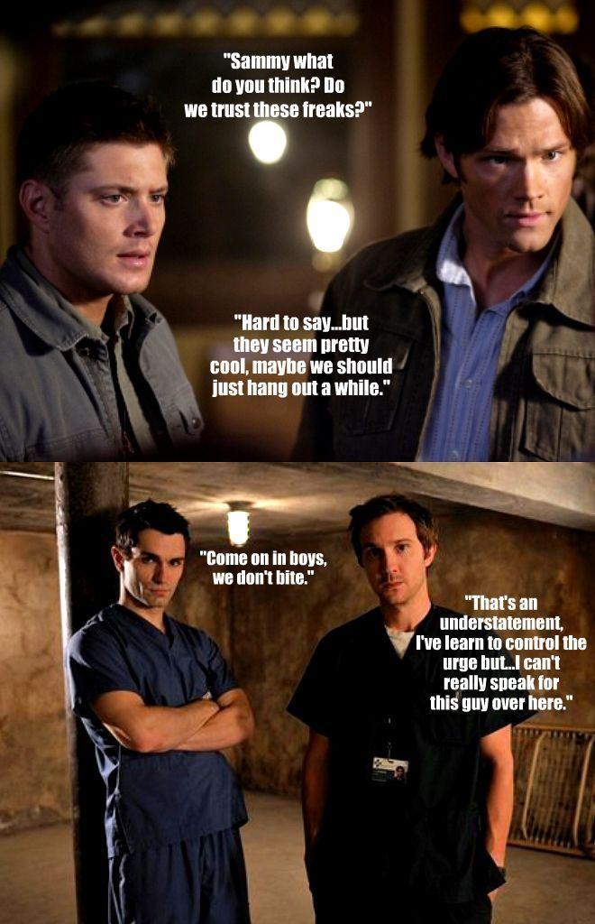 SUPERNATURAL/BEING HUMAN crossover:) - Winchester Girls Fan